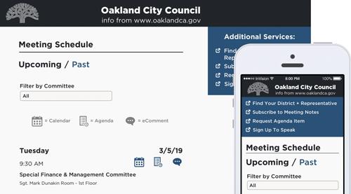 OpenOakland City Council Site